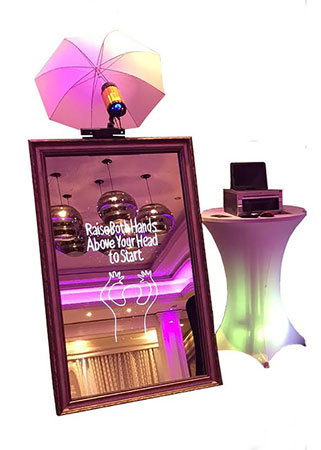 Magic Mirror Photo Booth Rental