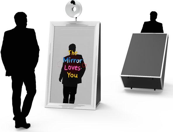Mirror me Photo Booth Rental