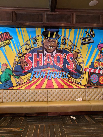 Shaqs Carnival and Circus Theme Event
