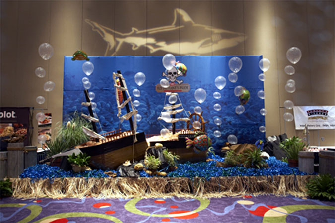 Under the sea themed decor