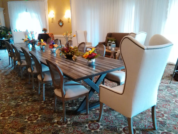 Banquet table Rental