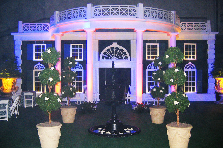 Southern Mansion Theme Party