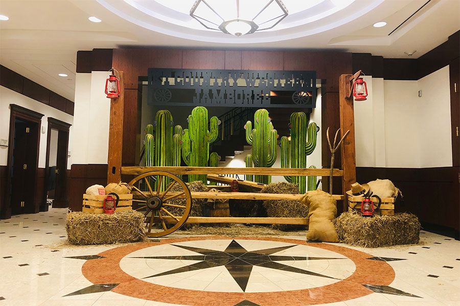 Western Themed Decor
