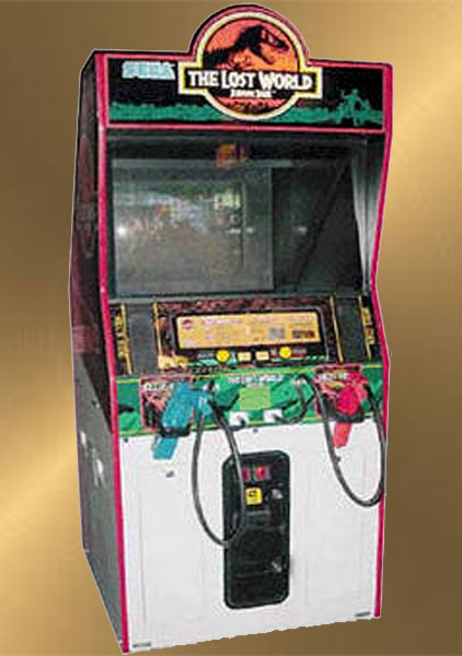Jurassic Park The Lost World Arcade Games for rent