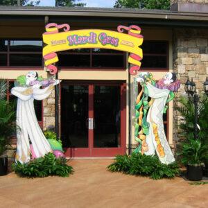 Mardi Gas entrance