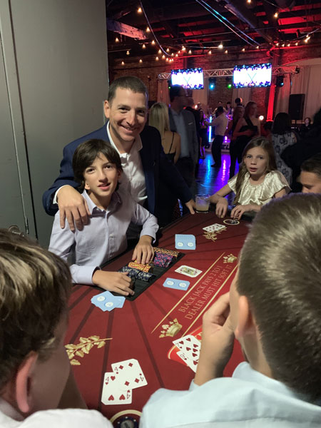 Casino Bar Mitzvah