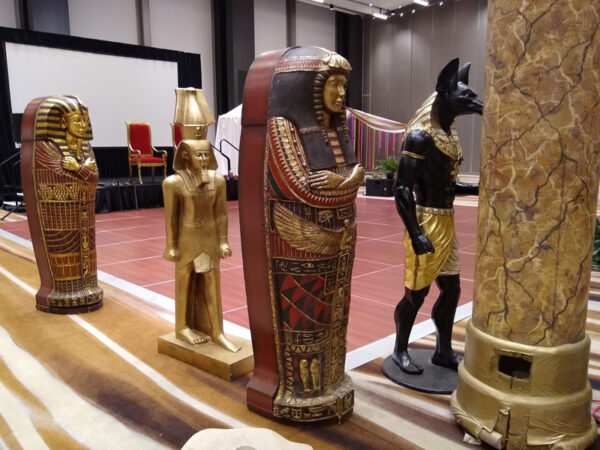 Egyptian Stage Set