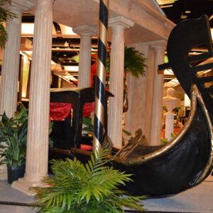 Venetian Gondola prop