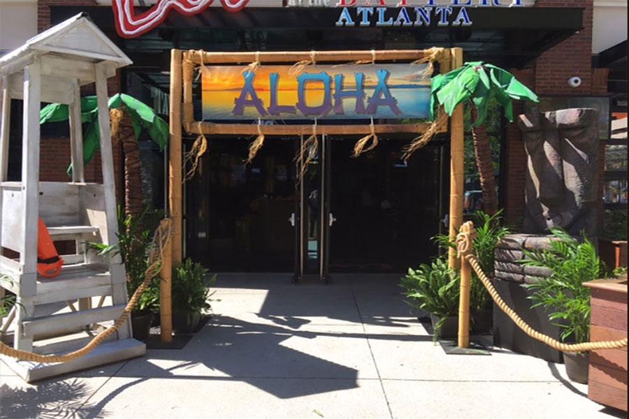 Hawaiian Theme decor