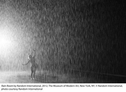Rain Room image at LACMA