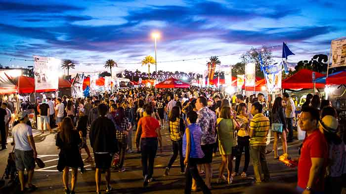 626 Night Market Highlights Asian American Community through Food and Fun
