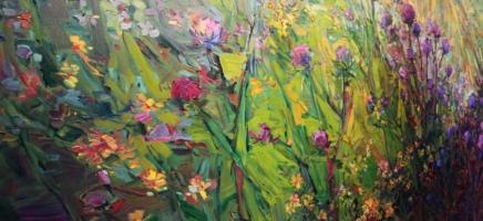 Erin Hanson, Landscape in Oil