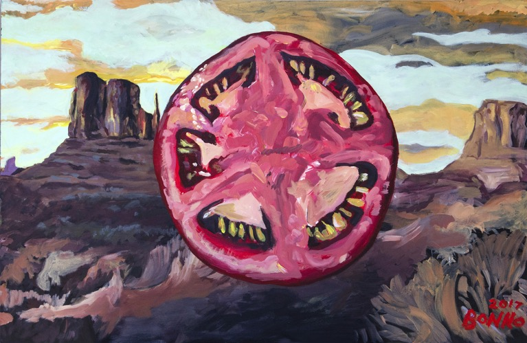 """ART TODAY 07.04.17: """"Tomato On The Range"""" and the story behind it by Chris Bonno"""