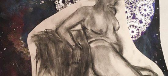 Elise, reclining by Molly Kirschenbaum