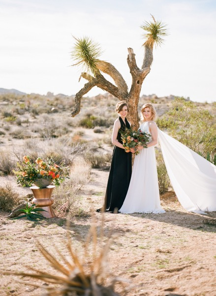 Wedding REVIEW: The Joshua Tree elopement, A Moxie Bright Event photographed by Jessica Schilling photograph