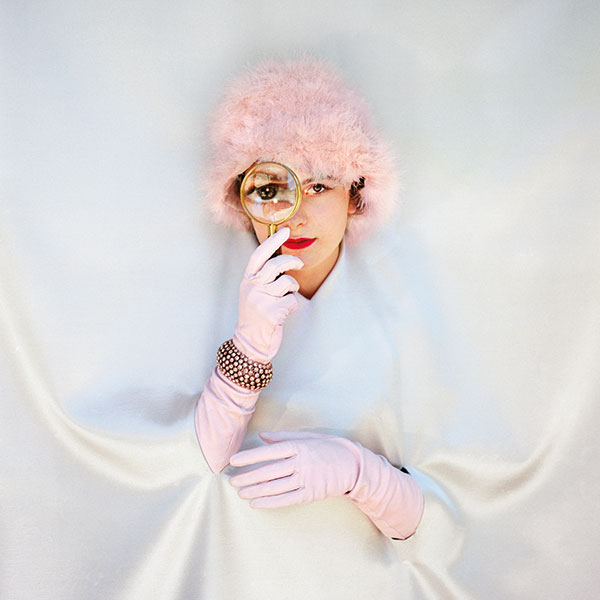 Pink Feathers by Aline Smithson
