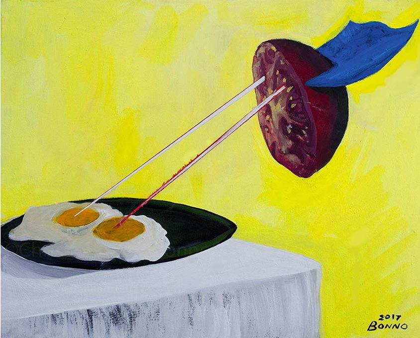 ART TODAY 11.16.17 Actor, Writer, Painter – Three humoristic ways Chris Bonno expresses himself