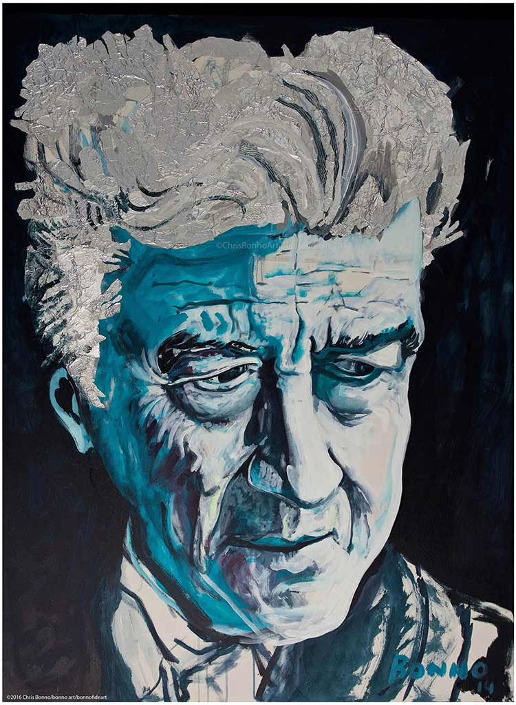 ART TODAY 11.12.17: Go Whimsical with Chris Bonno as filmmaker David Lynch joins the Bonno elite – Idea: Commission a whimsical art piece as a gift! Details here…
