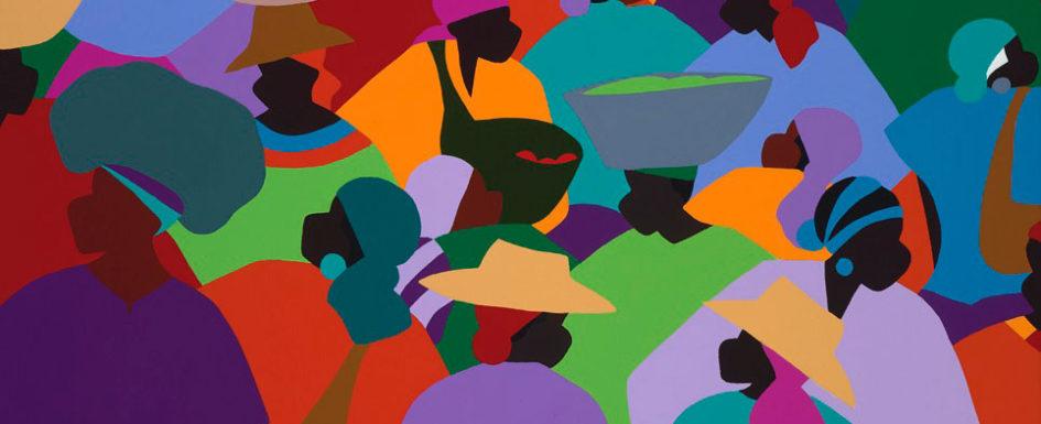 Les Palmes Market Haiti by Synthia SAINT JAMES
