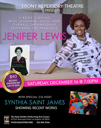 Jenifer-Lewis-and-Synthia-SAINT-JAMES at Ebony Theatre