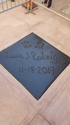 Vroman's Walk of Fame featuring Luis Rodrigues