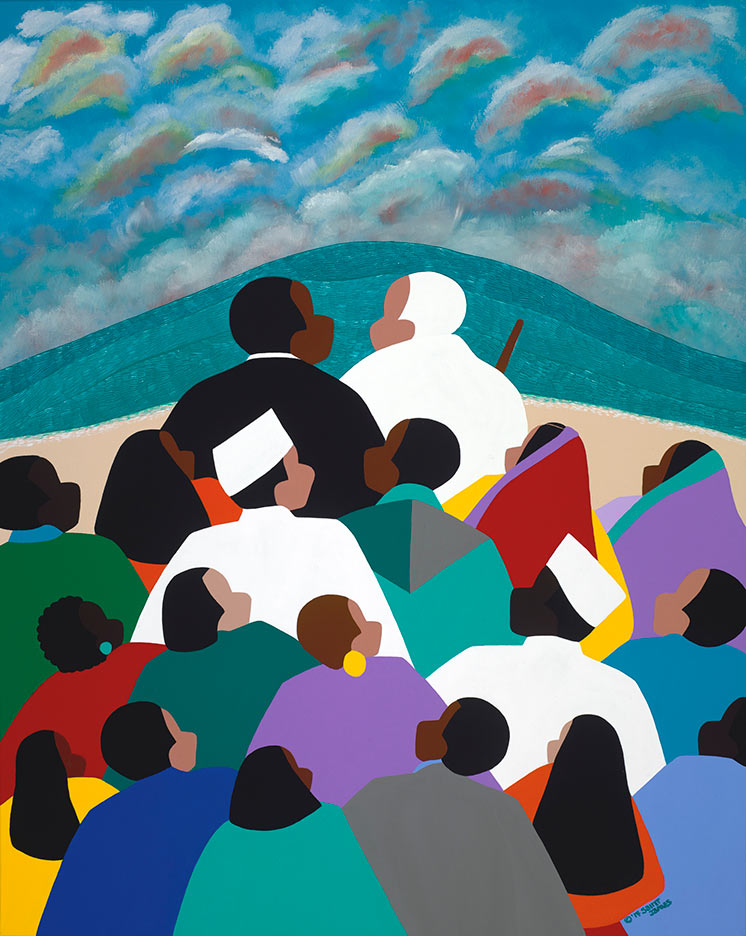 ART TODAY 021418 Martin Luther King – Called to Serve (new art) by Synthia SAINT JAMES