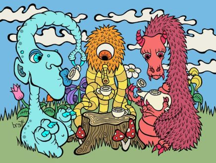 Monsters Tea Time by Brett Gilbert