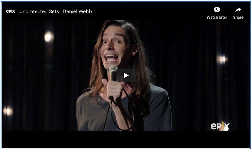 Comedian Daniel Webb