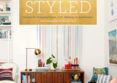 Styled bookcover by Emily Henderson