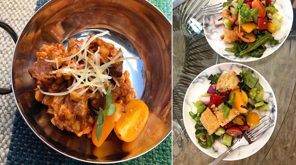 Lidia Bastianich meal