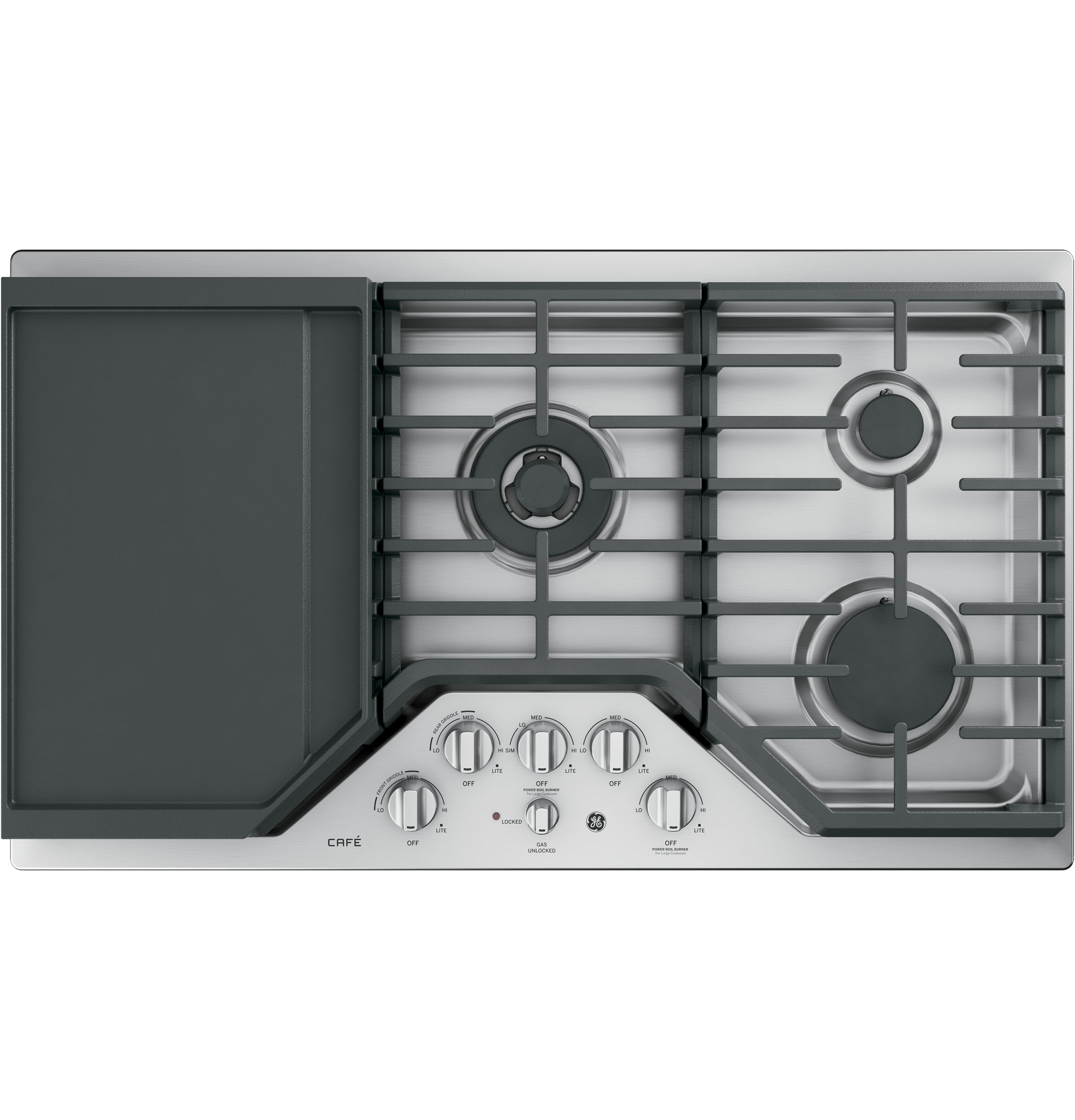 Ge Caf 233 Series 36 Quot Built In Gas Cooktop Cgp9536slss