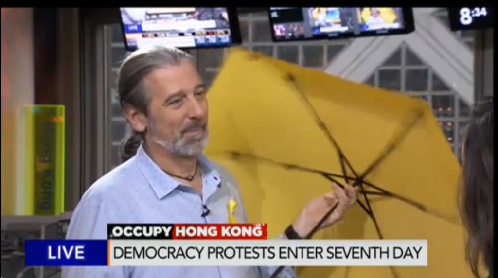 occupy central - protests in Hong Kong