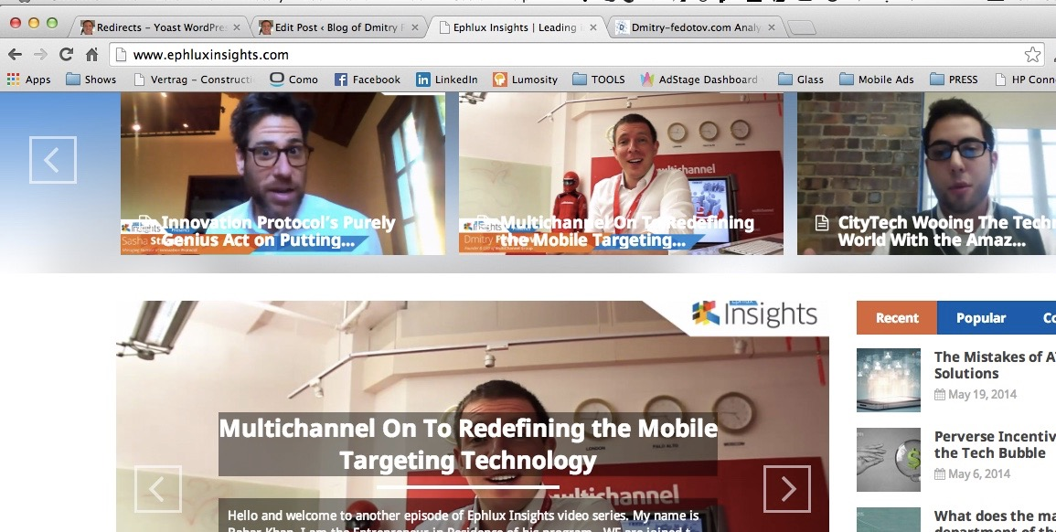 MULTICHANNEL mobile targeting