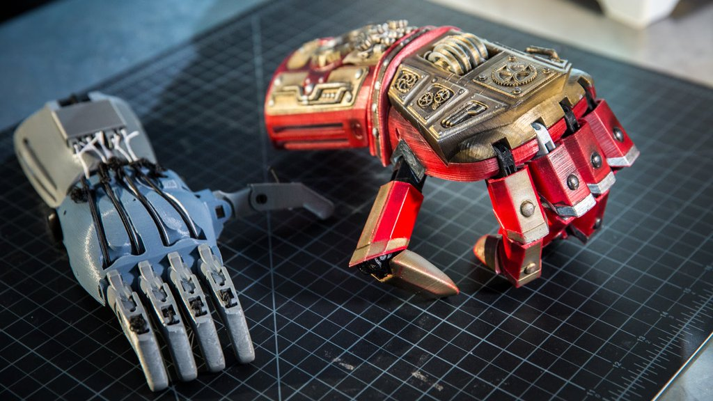 3d printed prosthetic
