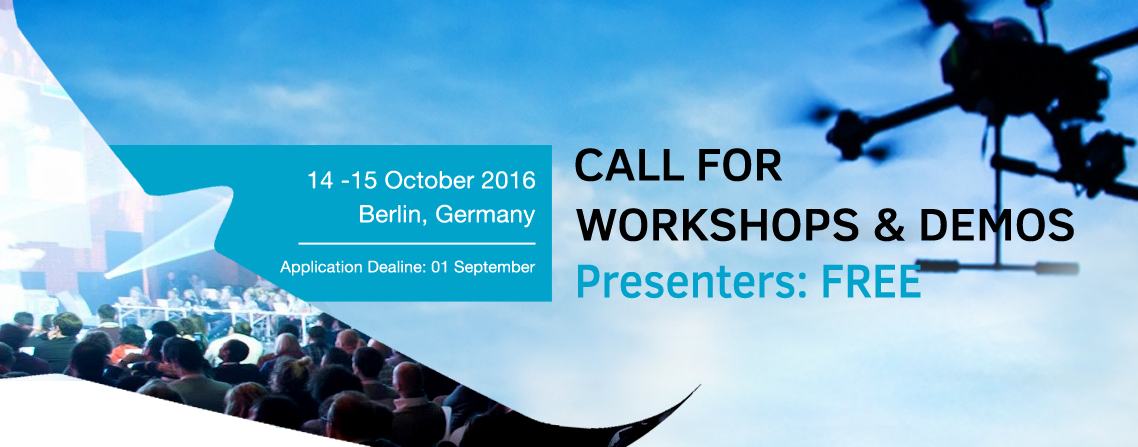 Drone Berlin Expo - submit your designs