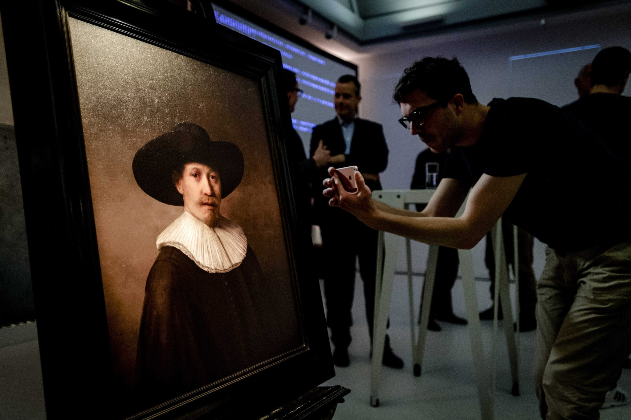 The Next Rembrandt 3D printed