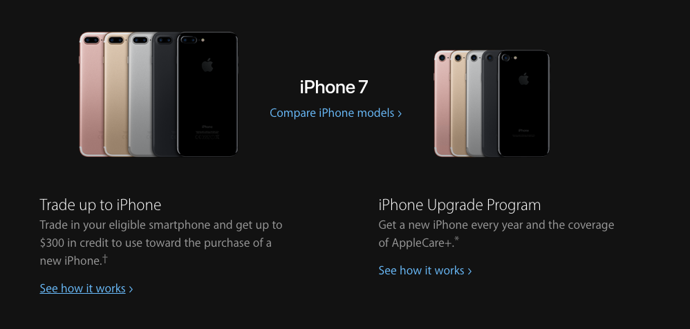 Trade in your iPhone - a great deal from Apple
