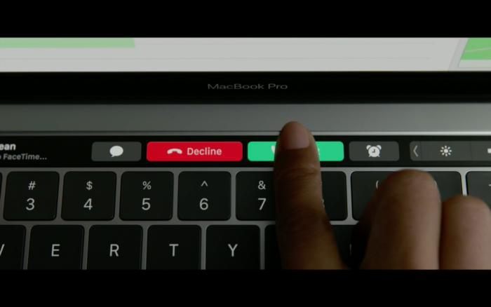 Nominating Apple's touch bar as the most useless tech innovation of 2017