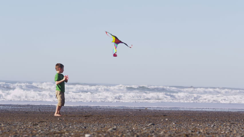 How to explain what a kite is to a 4 year old