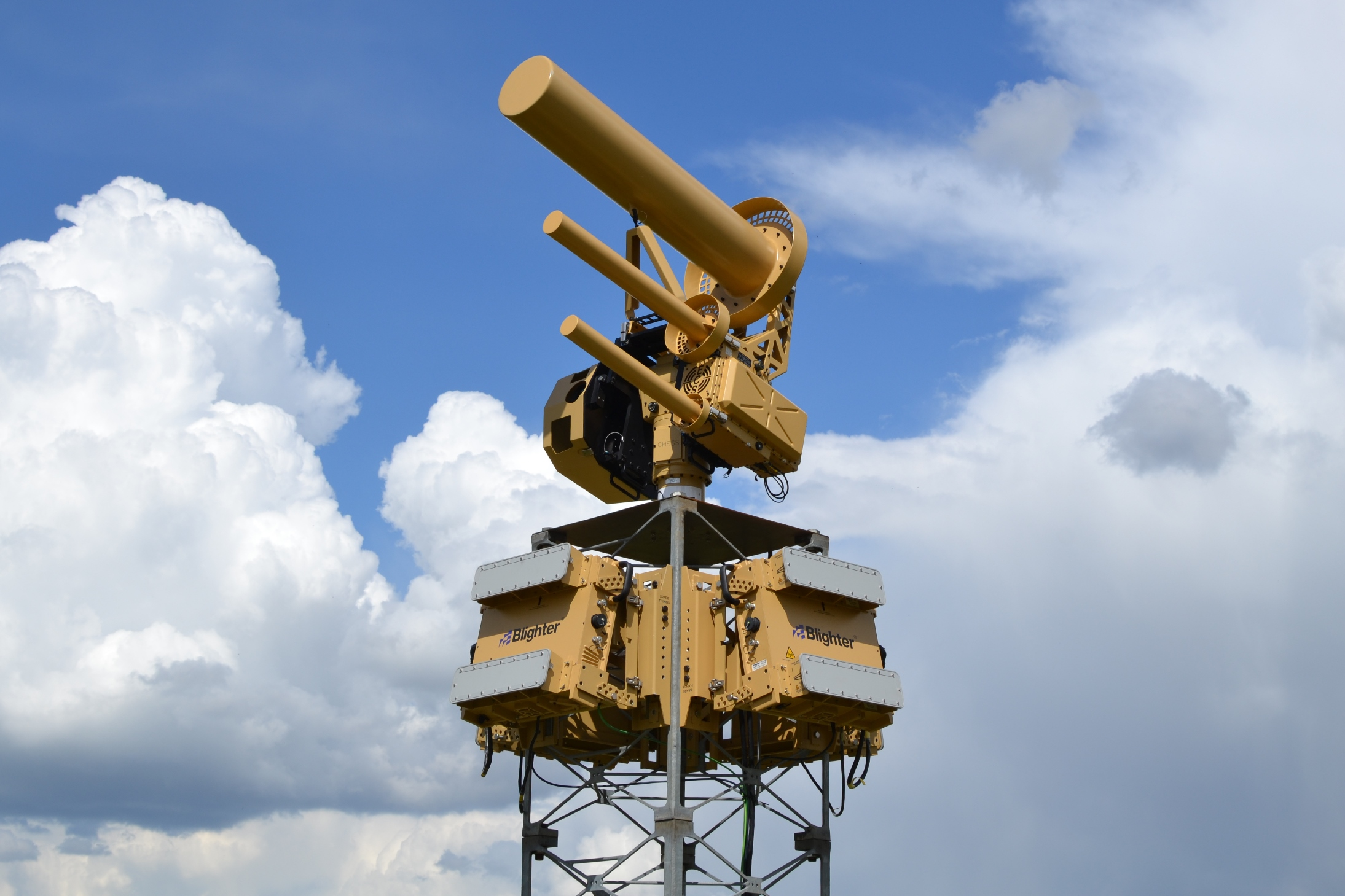 Anti-Drone towers at airports