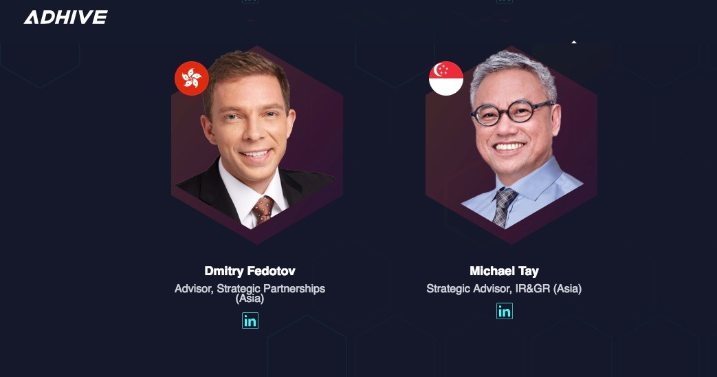 Dmitry Fedotov and Michael Tay @Adhive Singapore