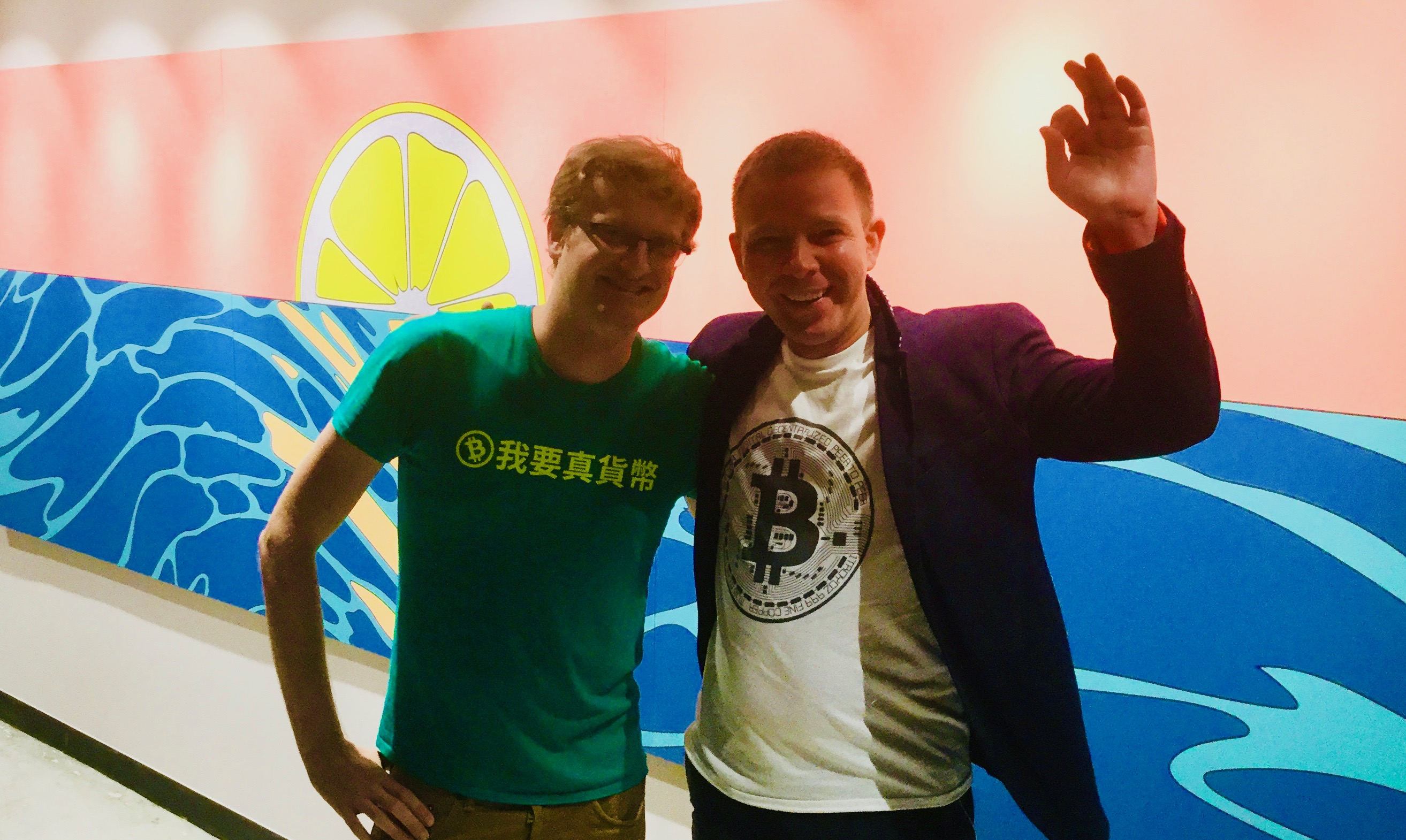 Dmitry Fedotov and Leonhard Weese #Bitcoin #Crypto #Hong Kong