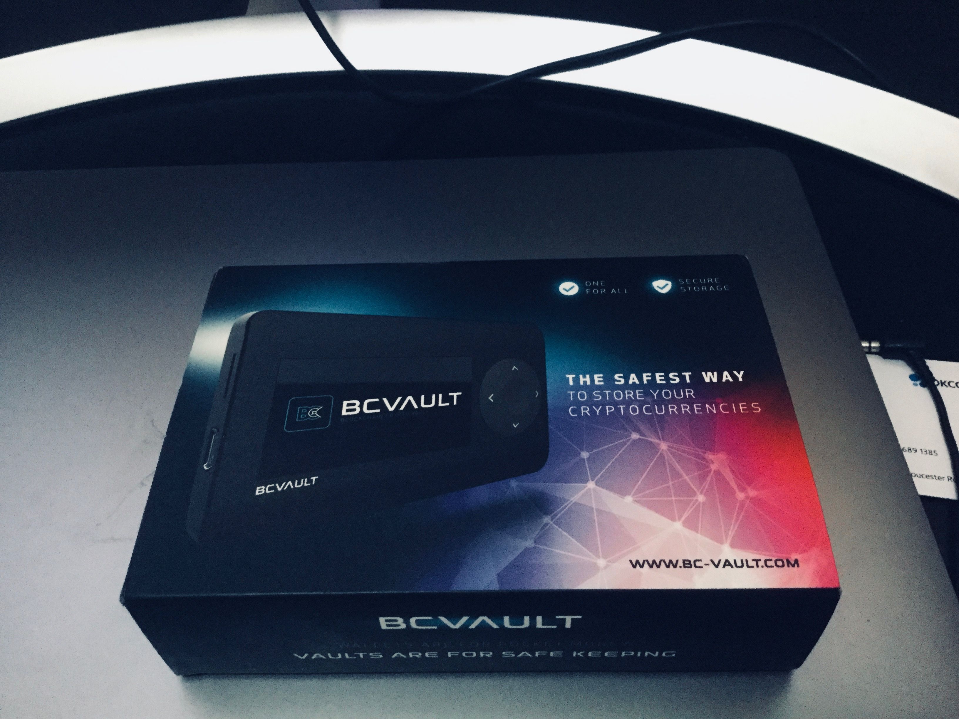 BC Vault Crypto Wallet Hardware