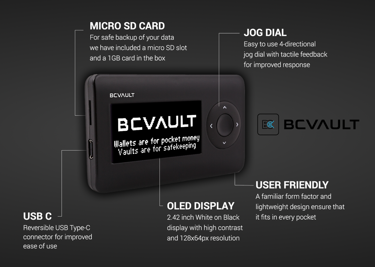 BC Vault - dare to hack this crypto wallet