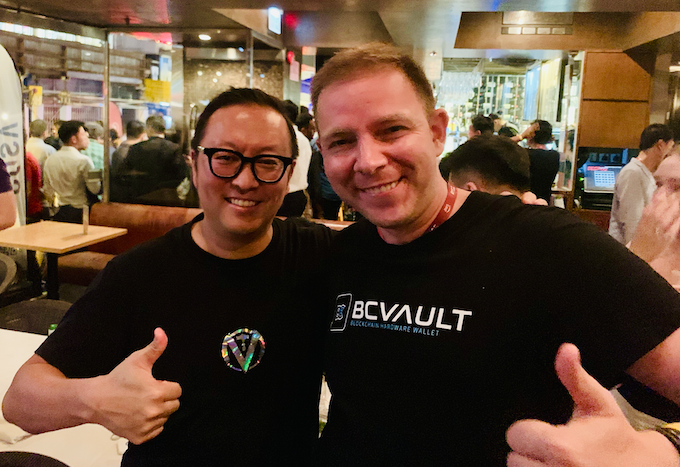 Sunny Lu of VeChain (VET) with Dmitry Fedotov (DF)