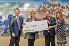Wells Fargo donation to Clive Community Foundation