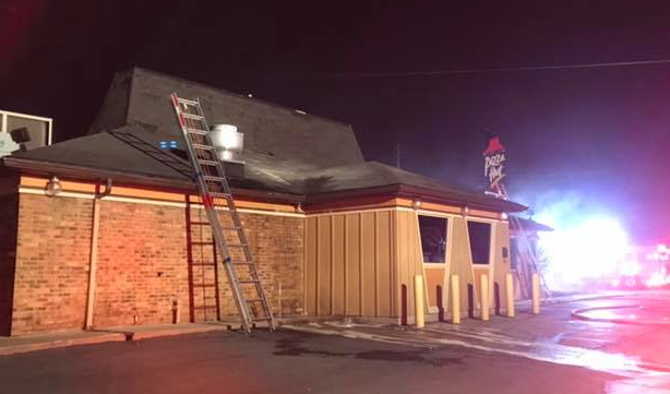 Police: Truck Knocks Down Wires, Catches Pizza Hut On Fire