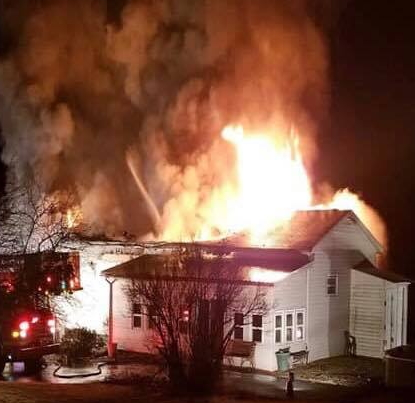 Crews Battle Mobile Home Fire Early Friday