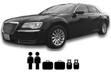 Chrysler 300 Passenger and luggage info