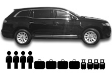 Lincoln MKT Luggage and passenger info